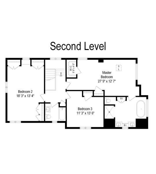 Real Estate Photography - 2501 Ridgeway Avenue, Evanston, IL, 60201 - Floor Plan