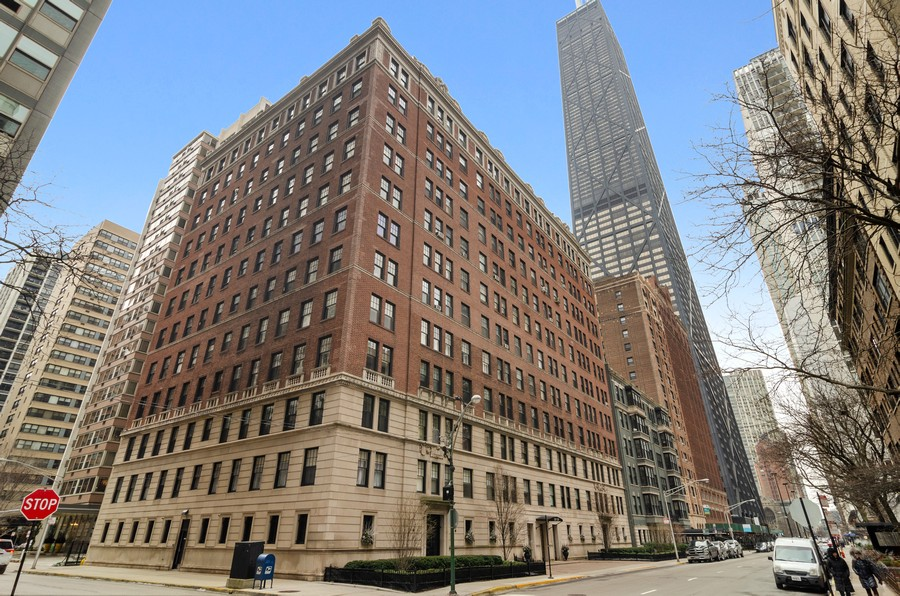 Real Estate Photography - 237 E Delaware Pl, Unit 7B, Chicago, IL, 60611 - Front View