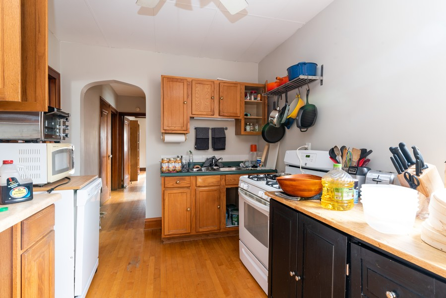 Real Estate Photography - 3412 N Avers Avenue, Chicago, IL, 60618 - Second Floor Kitchen