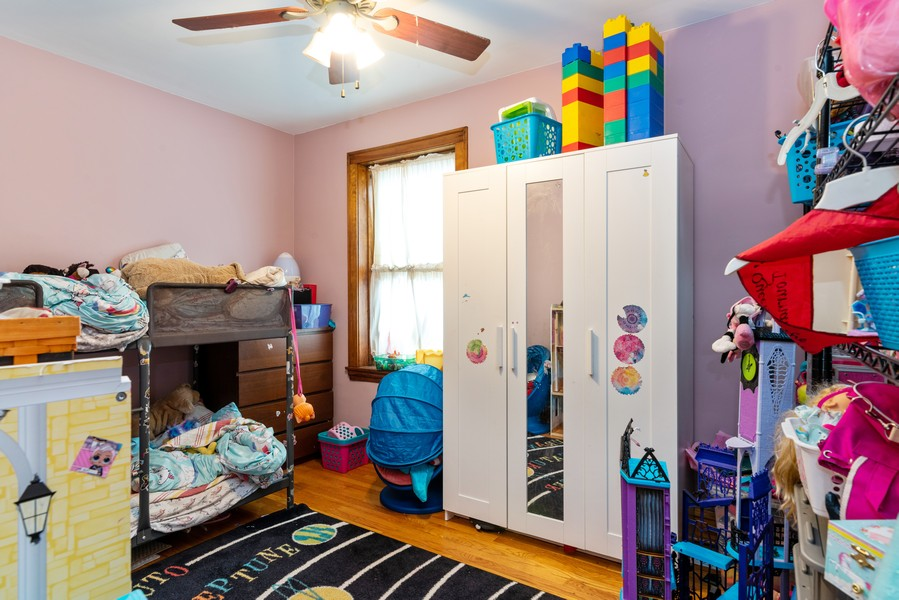 Real Estate Photography - 3412 N Avers Avenue, Chicago, IL, 60618 - First Floor Second Bedroom