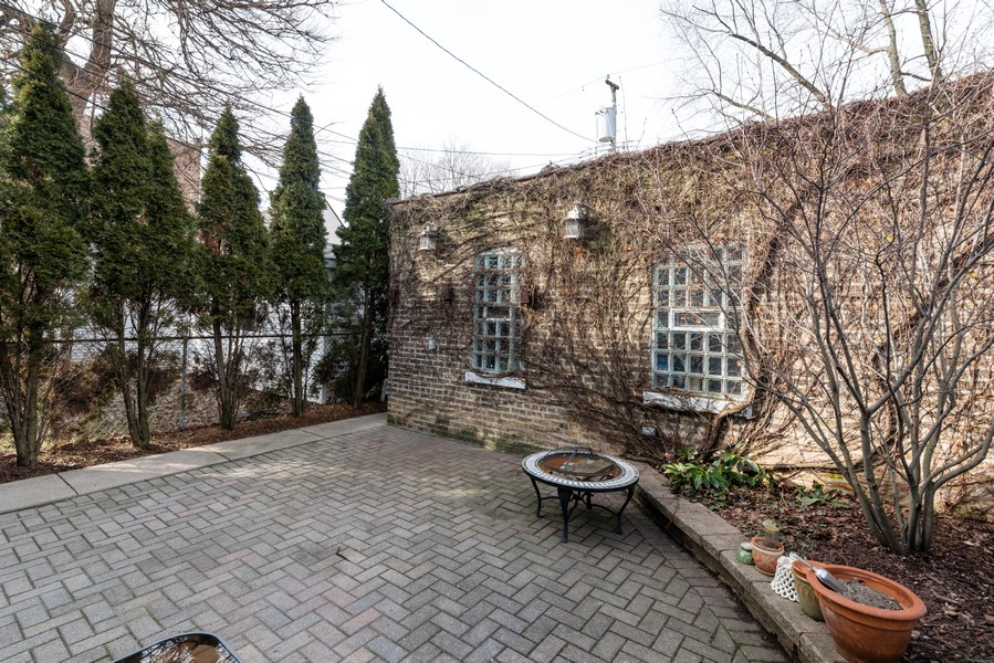 Real Estate Photography - 3412 N Avers Avenue, Chicago, IL, 60618 - Back Yard