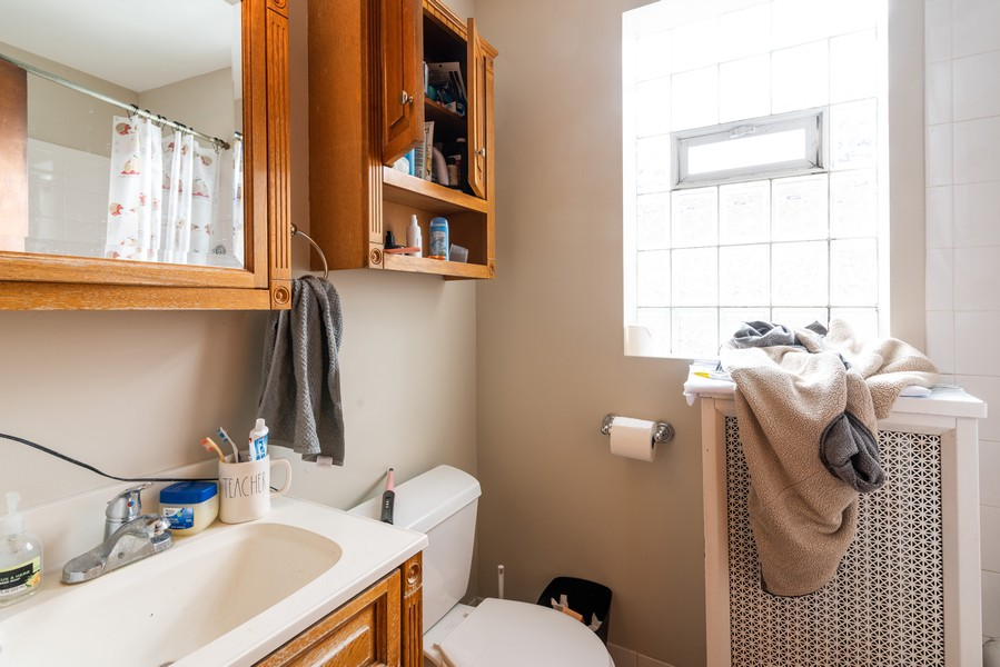 Real Estate Photography - 3412 N Avers Avenue, Chicago, IL, 60618 - Second Floor Bathroom