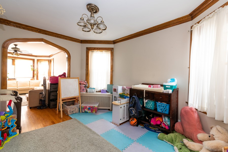 Real Estate Photography - 3412 N Avers Avenue, Chicago, IL, 60618 - First Floor Dining Room