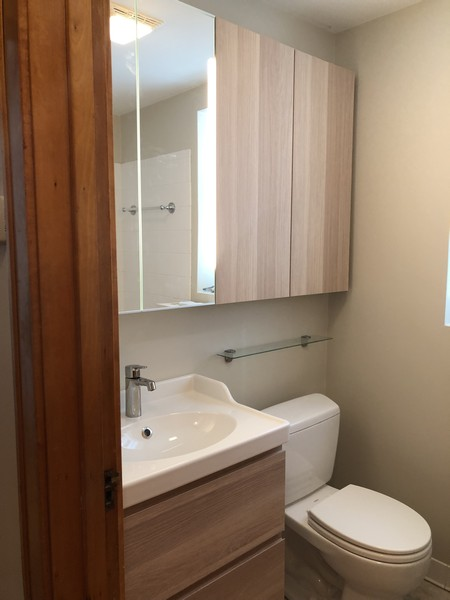 Real Estate Photography - 3412 N Avers Avenue, Chicago, IL, 60618 - First Floor Bathroom