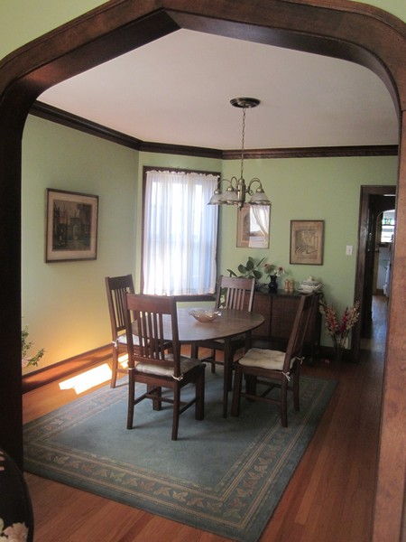 Real Estate Photography - 3412 N Avers Avenue, Chicago, IL, 60618 - Second Floor Dining Room