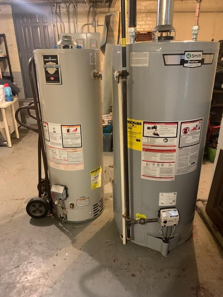 Real Estate Photography - 3412 N Avers Avenue, Chicago, IL, 60618 - Hot Water Heaters