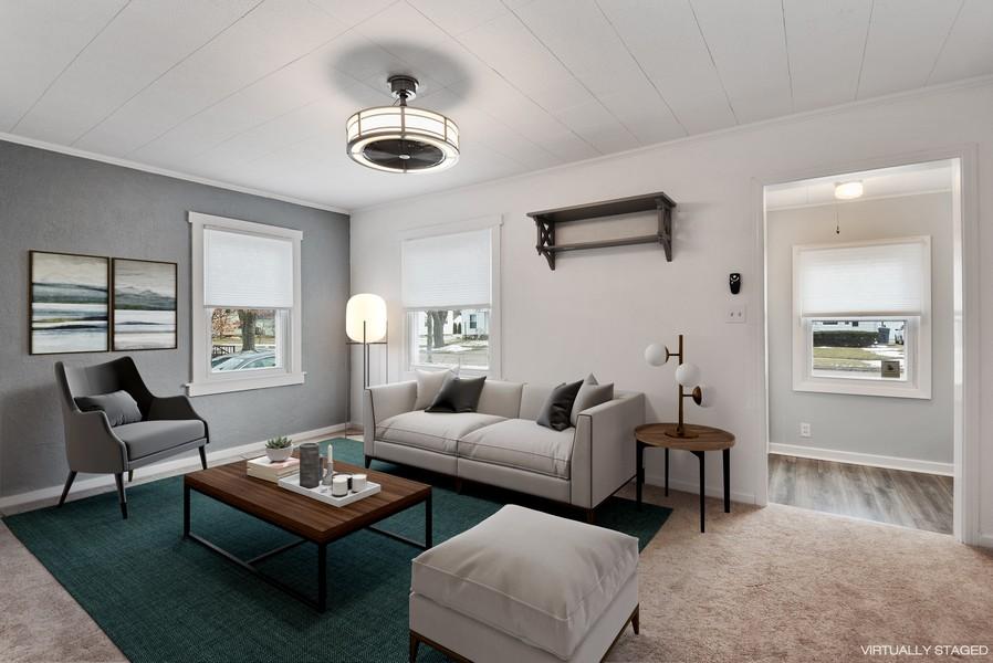 Real Estate Photography - 2612 Willa Drive, St. Joseph, MI, 49085 - Living Room