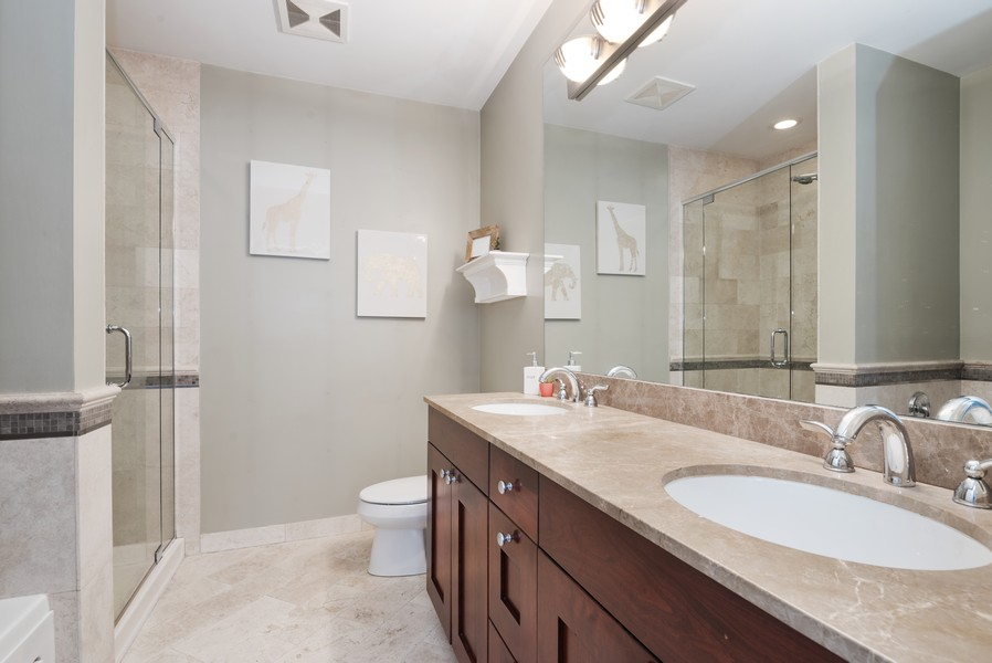 Real Estate Photography - 1520 N. Sedgwick #2A, Chicago, IL, 60610 - Master Bathroom