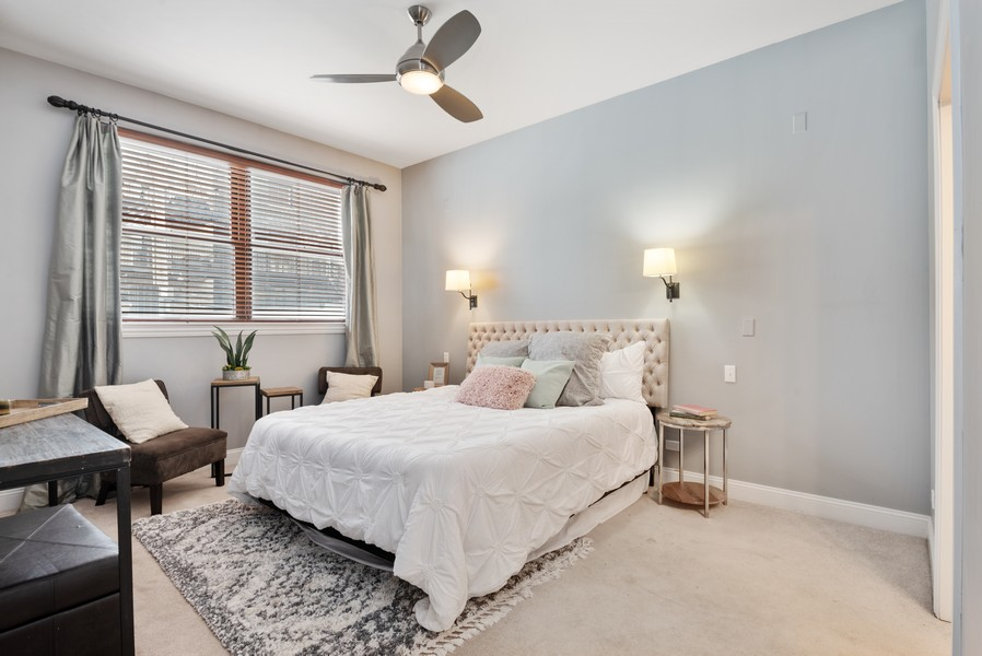 Real Estate Photography - 1520 N. Sedgwick #2A, Chicago, IL, 60610 - Master Bedroom