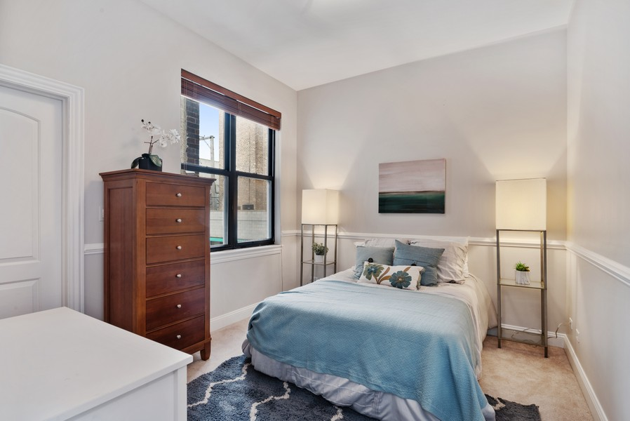 Real Estate Photography - 1520 N. Sedgwick #2A, Chicago, IL, 60610 - 2nd Bedroom