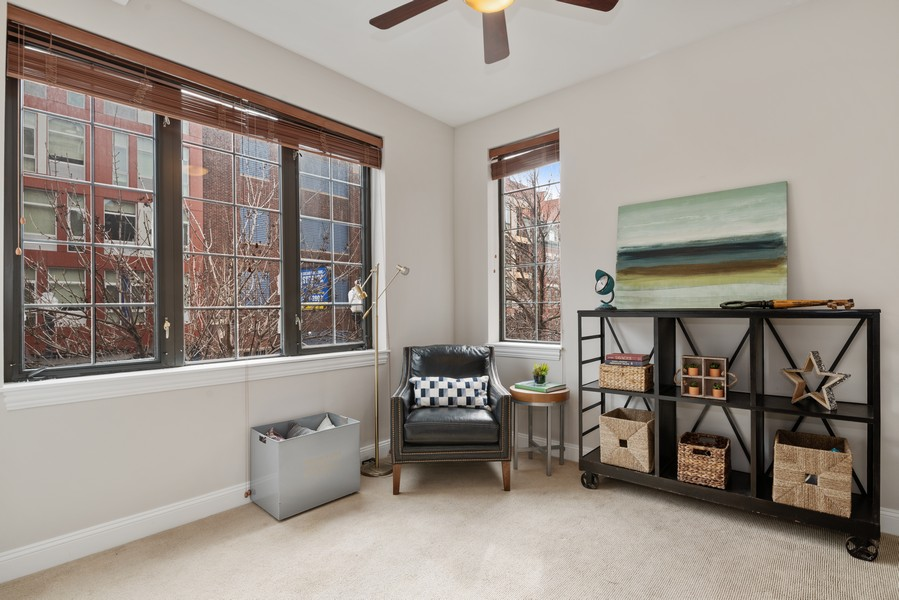 Real Estate Photography - 1520 N. Sedgwick #2A, Chicago, IL, 60610 - 3rd Bedroom