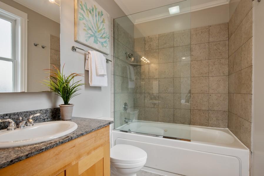 Real Estate Photography - 2630 North Washtenaw, Unit 3S, Chicago, IL, 60647 - Master Bathroom