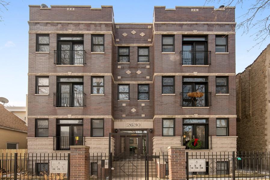Real Estate Photography - 2630 North Washtenaw, Unit 3S, Chicago, IL, 60647 - Front View