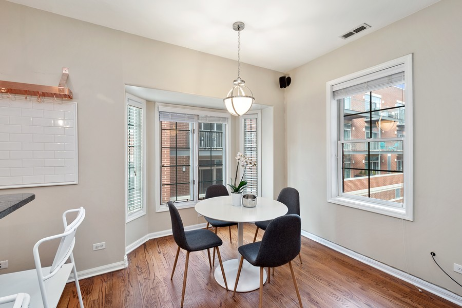 Real Estate Photography - 1034 W Monroe, Chicago, IL, 60607 - Dining Room