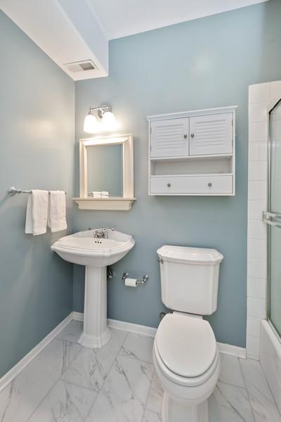 Real Estate Photography - 1034 W Monroe, Chicago, IL, 60607 - Bathroom