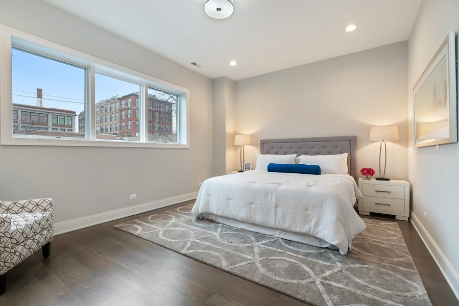 Real Estate Photography - 1860 N Maud Ave, Chicago, IL, 60614 - Master Bedroom
