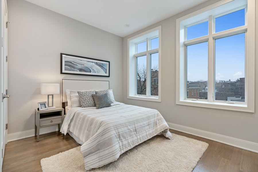 Real Estate Photography - 1860 N Maud Ave, Chicago, IL, 60614 - 3rd Bedroom