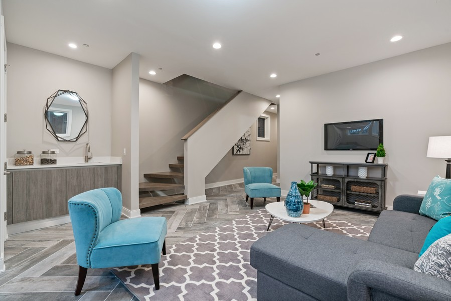 Real Estate Photography - 1860 N Maud Ave, Chicago, IL, 60614 - Lower Level