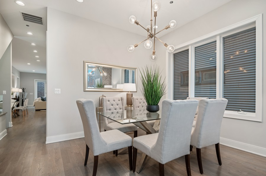 Real Estate Photography - 1860 N Maud Ave, Chicago, IL, 60614 - Dining Room
