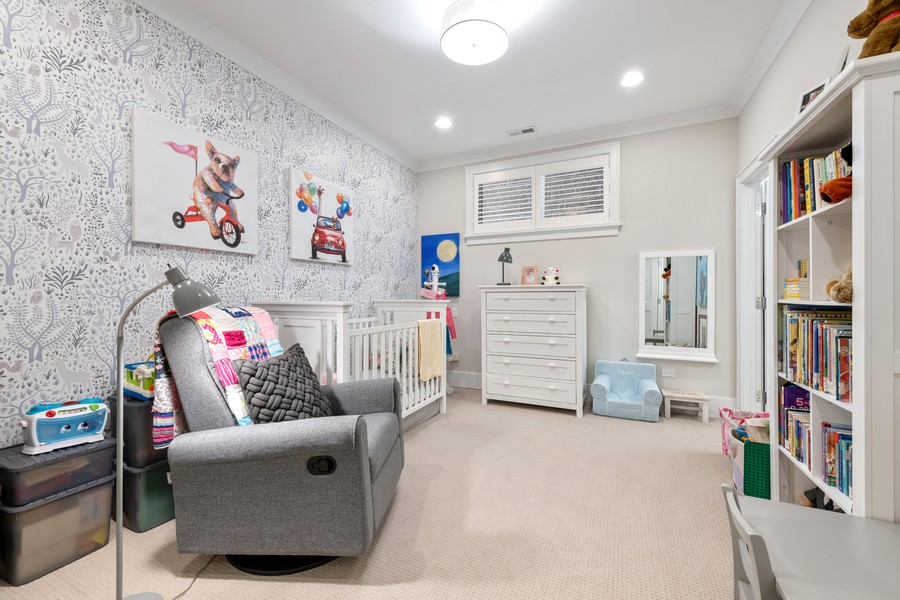 Real Estate Photography - 3729 N Wilton Ave, 1S, Chicago, IL, 60613 - 2nd Bedroom