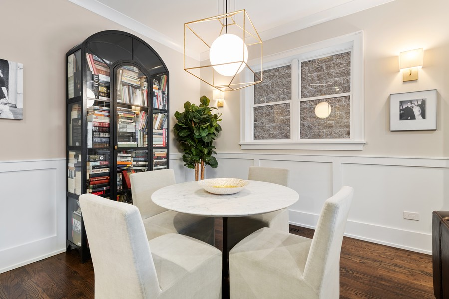Real Estate Photography - 3729 N Wilton Ave, 1S, Chicago, IL, 60613 - Dining Room