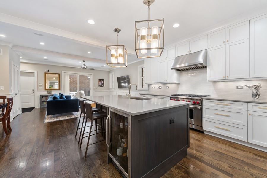 Real Estate Photography - 3729 N Wilton Ave, 1S, Chicago, IL, 60613 - Kitchen