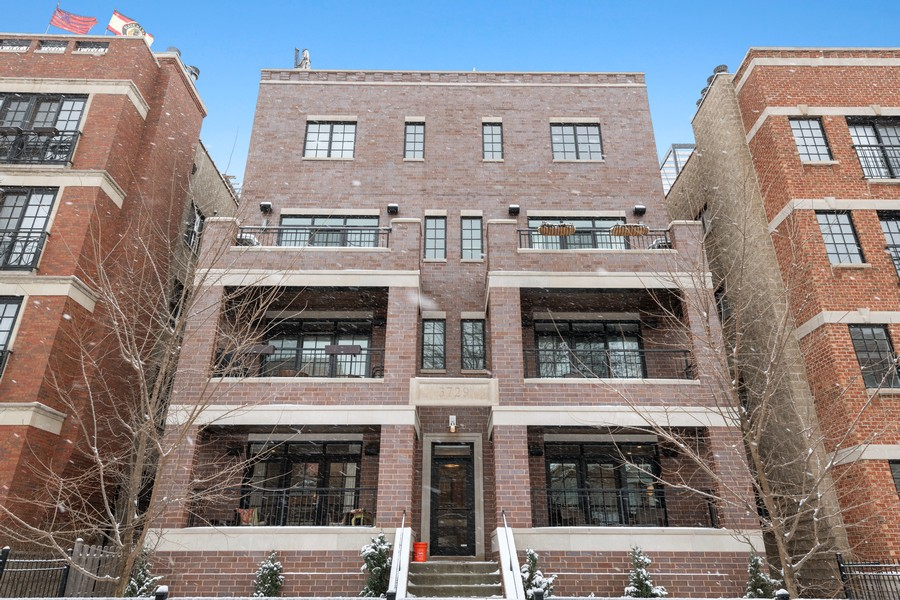 Real Estate Photography - 3729 N Wilton Ave, 1S, Chicago, IL, 60613 - Front View