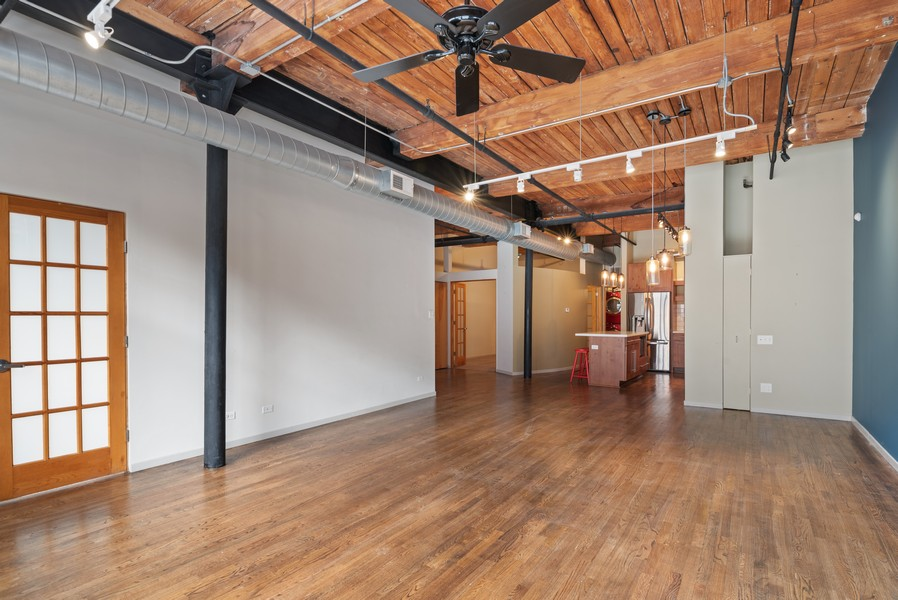 Real Estate Photography - 1000 W. Washington Blvd, 326, Chicago, IL, 60607 - Great Room