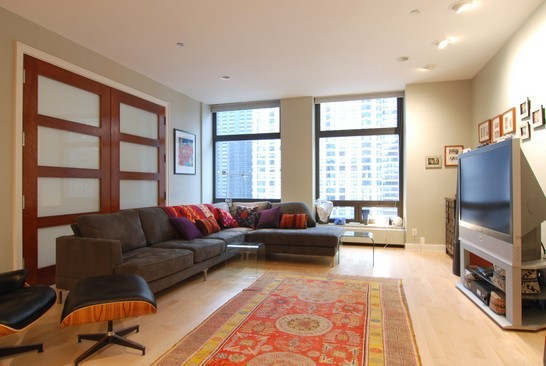Real Estate Photography - 680 N Lake Shore Dr, 1218, Chicago, IL, 60611 - Living Room