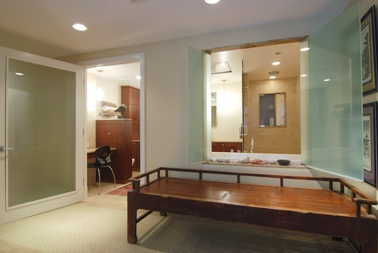 Real Estate Photography - 680 N Lake Shore Dr, 1218, Chicago, IL, 60611 - Master Bathroom