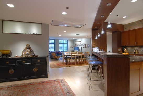 Real Estate Photography - 680 N Lake Shore Dr, 1218, Chicago, IL, 60611 - Foyer/Dining Room