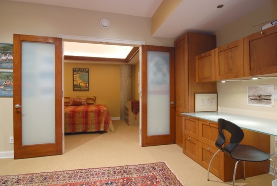 Real Estate Photography - 680 N Lake Shore Dr, 1218, Chicago, IL, 60611 - Guest Bedroom