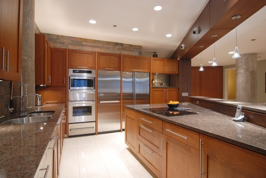 Real Estate Photography - 680 N Lake Shore Dr, 1218, Chicago, IL, 60611 - Kitchen