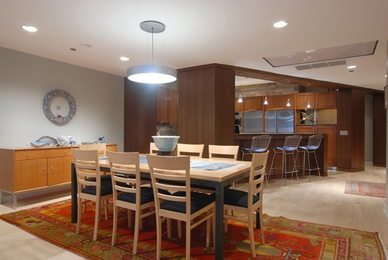 Real Estate Photography - 680 N Lake Shore Dr, 1218, Chicago, IL, 60611 - Kitchen / Dining Room