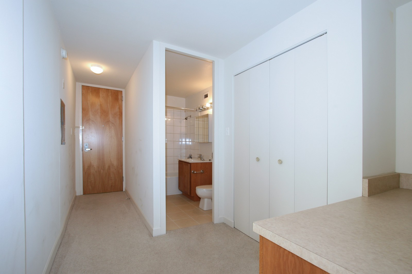 Real Estate Photography - 345 E. Eastgate Pl., 306, Chicago, IL, 60616 - Hallway