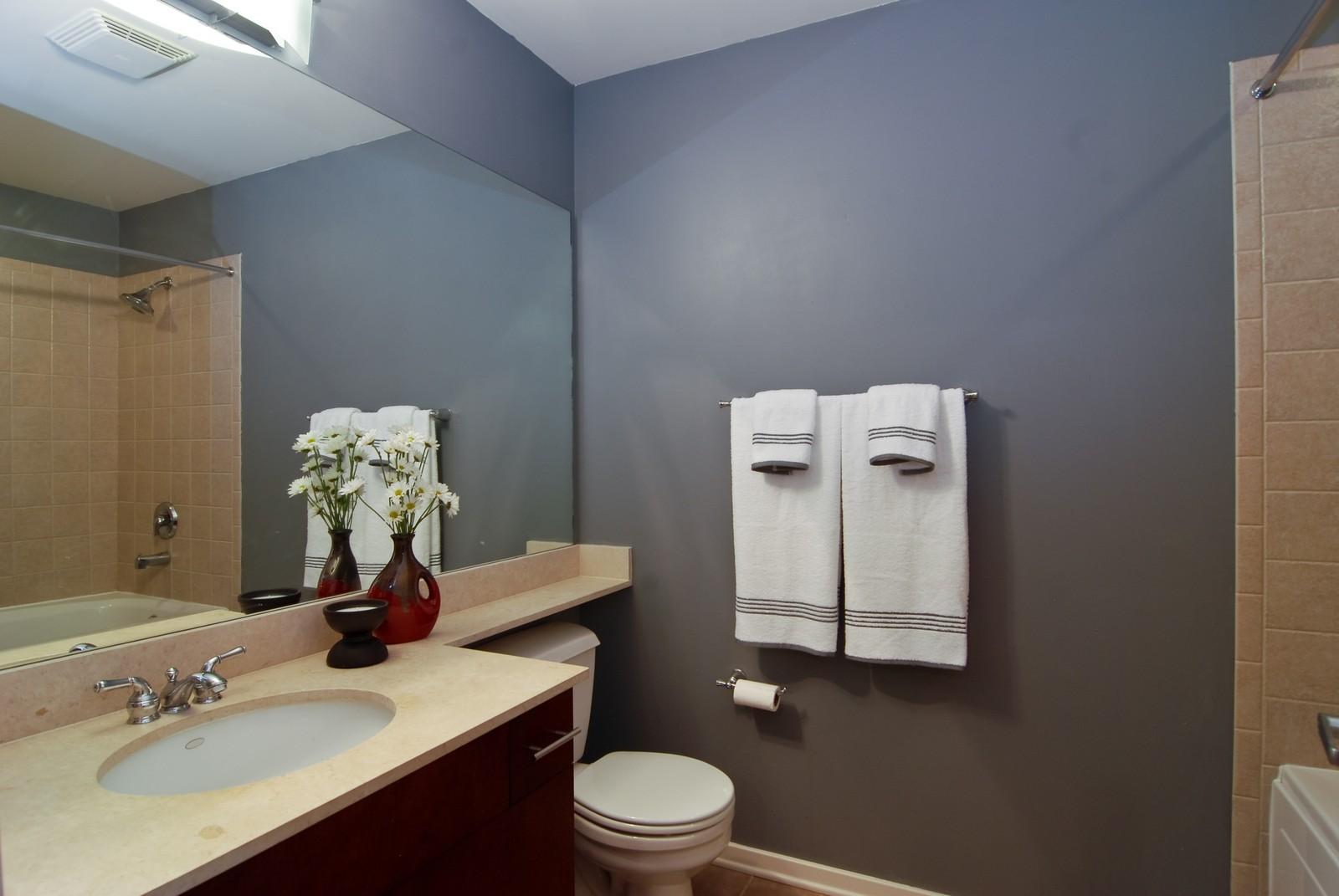 Real Estate Photography - 1040 W Adams, Unit 452, Chicago, IL, 60607 - Bathroom