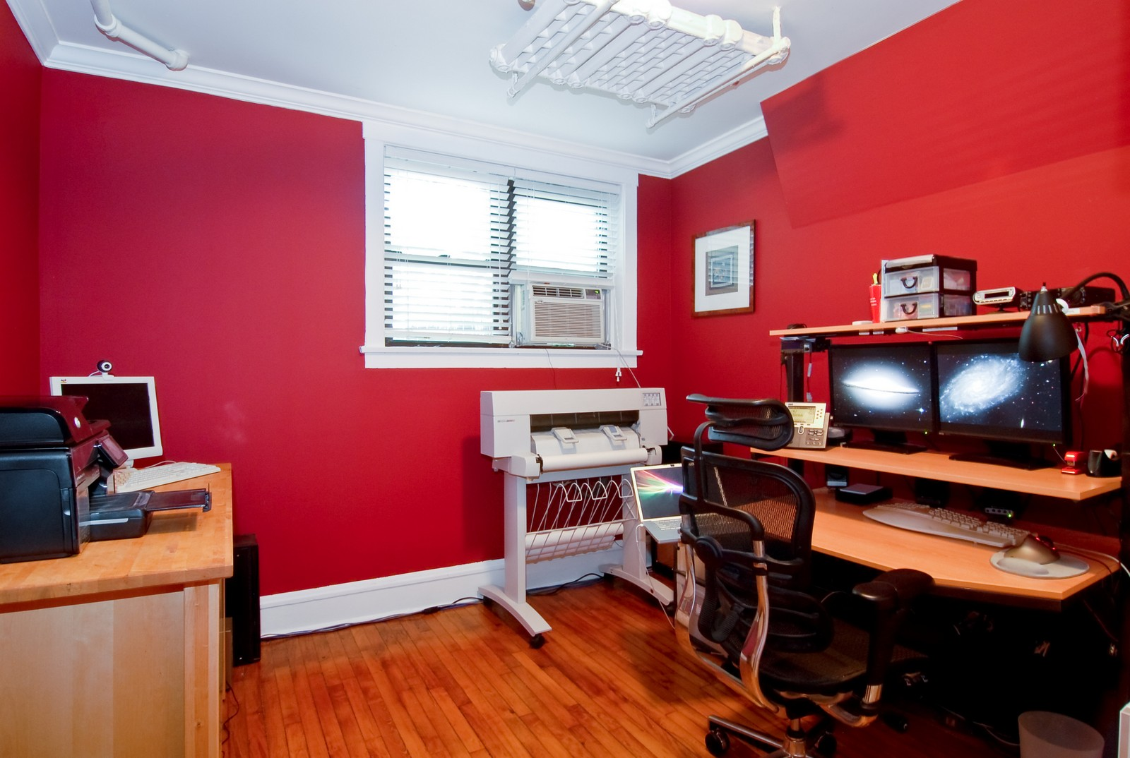 Real Estate Photography - 1457 W Rosemont Ave, Unit Garden, Chicago, IL, 60660 - Office