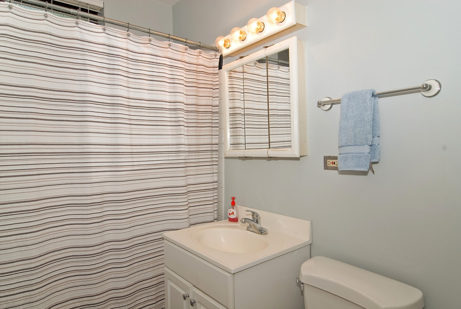 Real Estate Photography - 1457 W Rosemont Ave, Unit Garden, Chicago, IL, 60660 - Bathroom