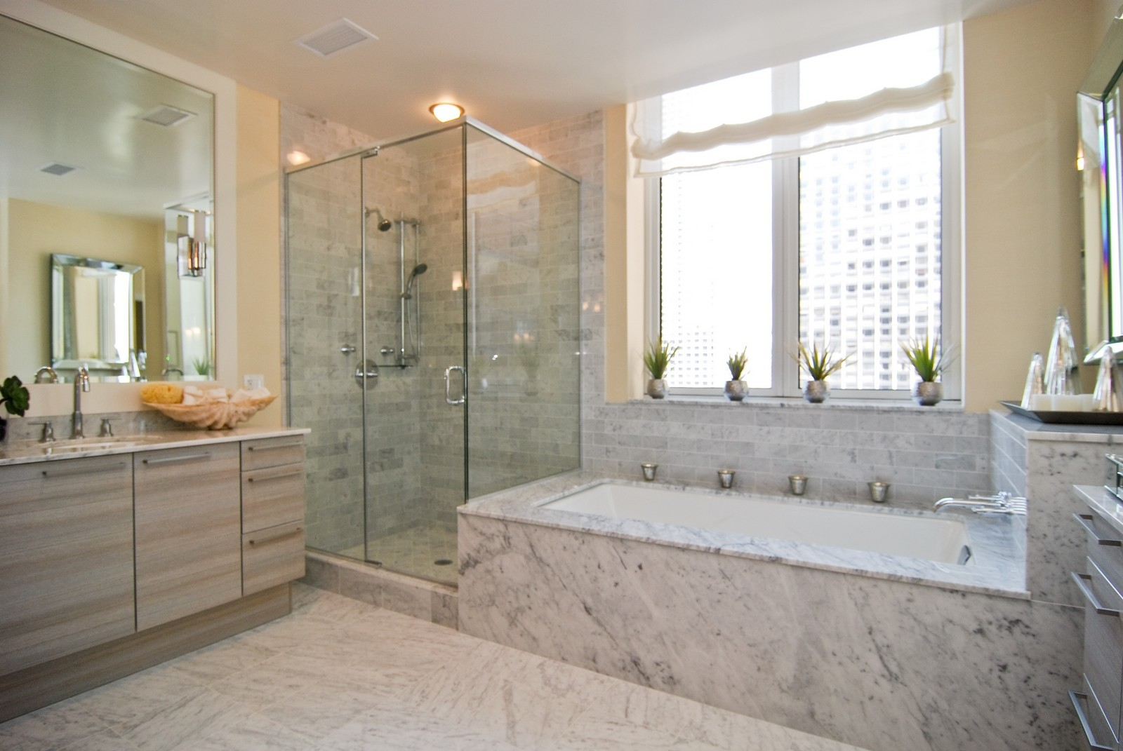 Real Estate Photography - 10 E Delaware Ave, Chicago, IL, 60610 - Master Bathroom