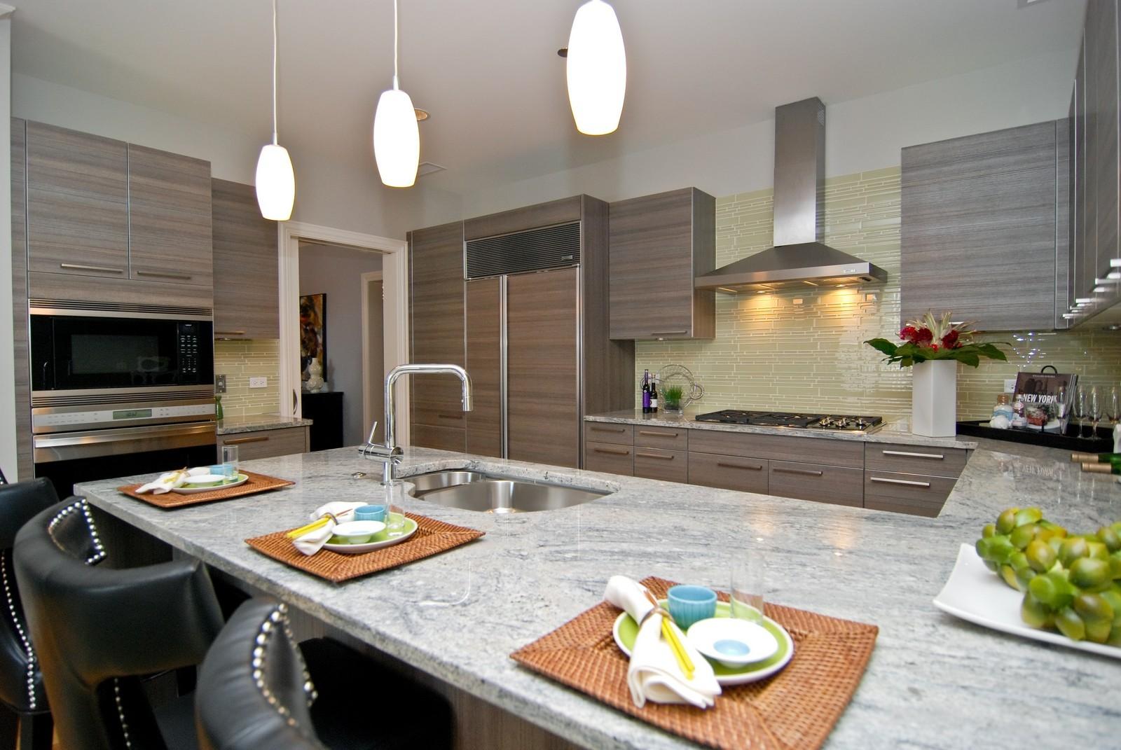 Real Estate Photography - 10 E Delaware Ave, Chicago, IL, 60610 - Kitchen