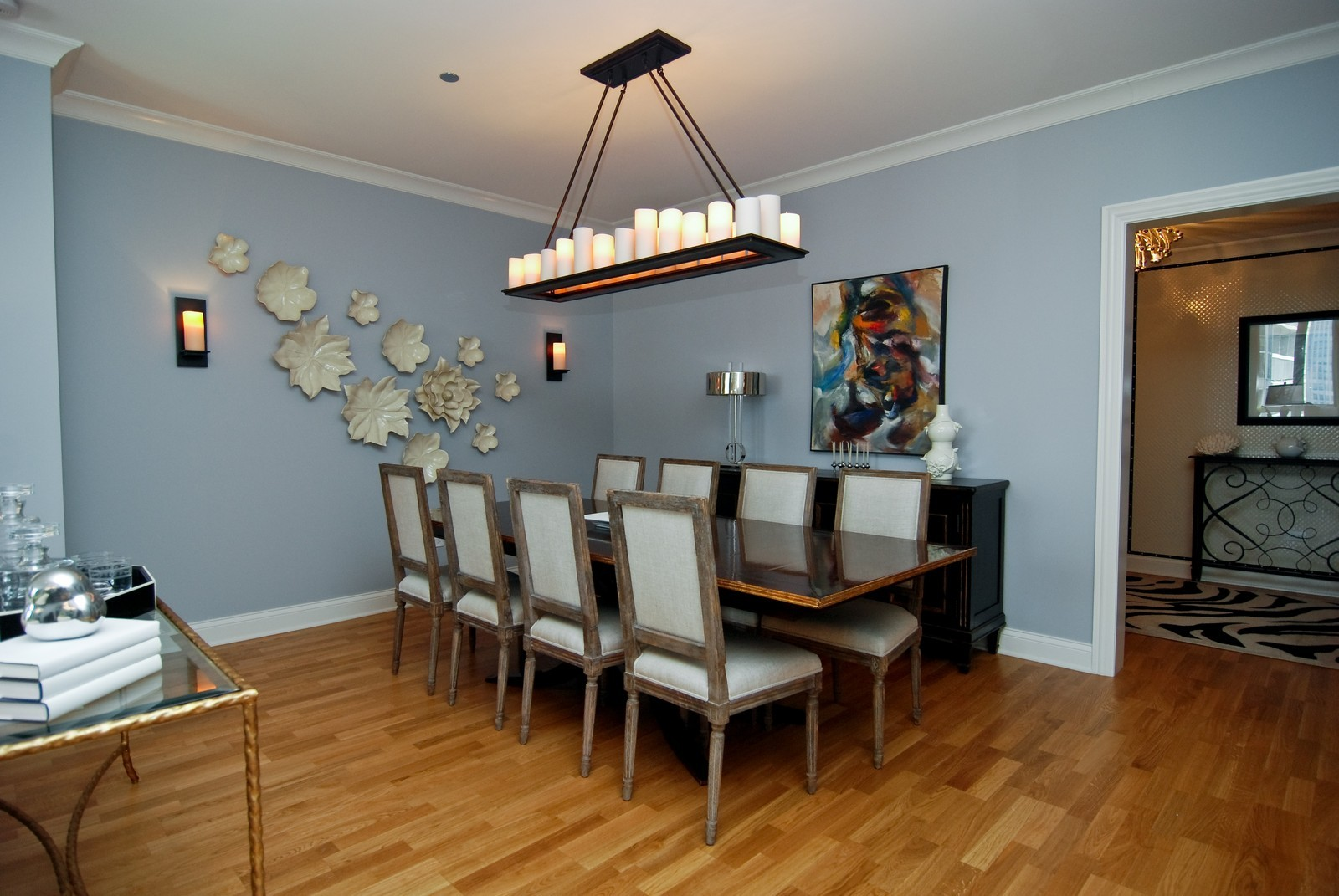 Real Estate Photography - 10 E Delaware Ave, Chicago, IL, 60610 - Dining Room