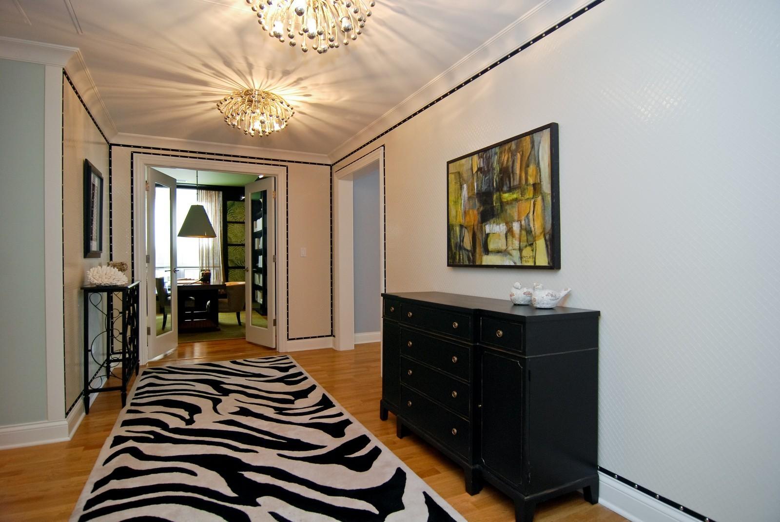 Real Estate Photography - 10 E Delaware Ave, Chicago, IL, 60610 - Foyer
