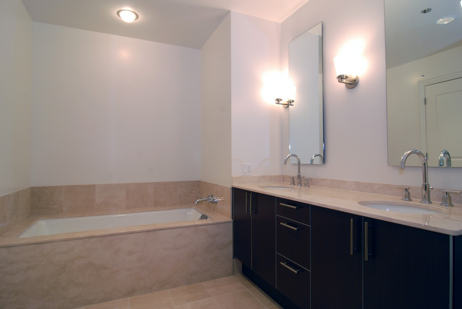 Real Estate Photography - 10 E Delaware Ave, Chicago, IL, 60610 - 2nd Bathroom