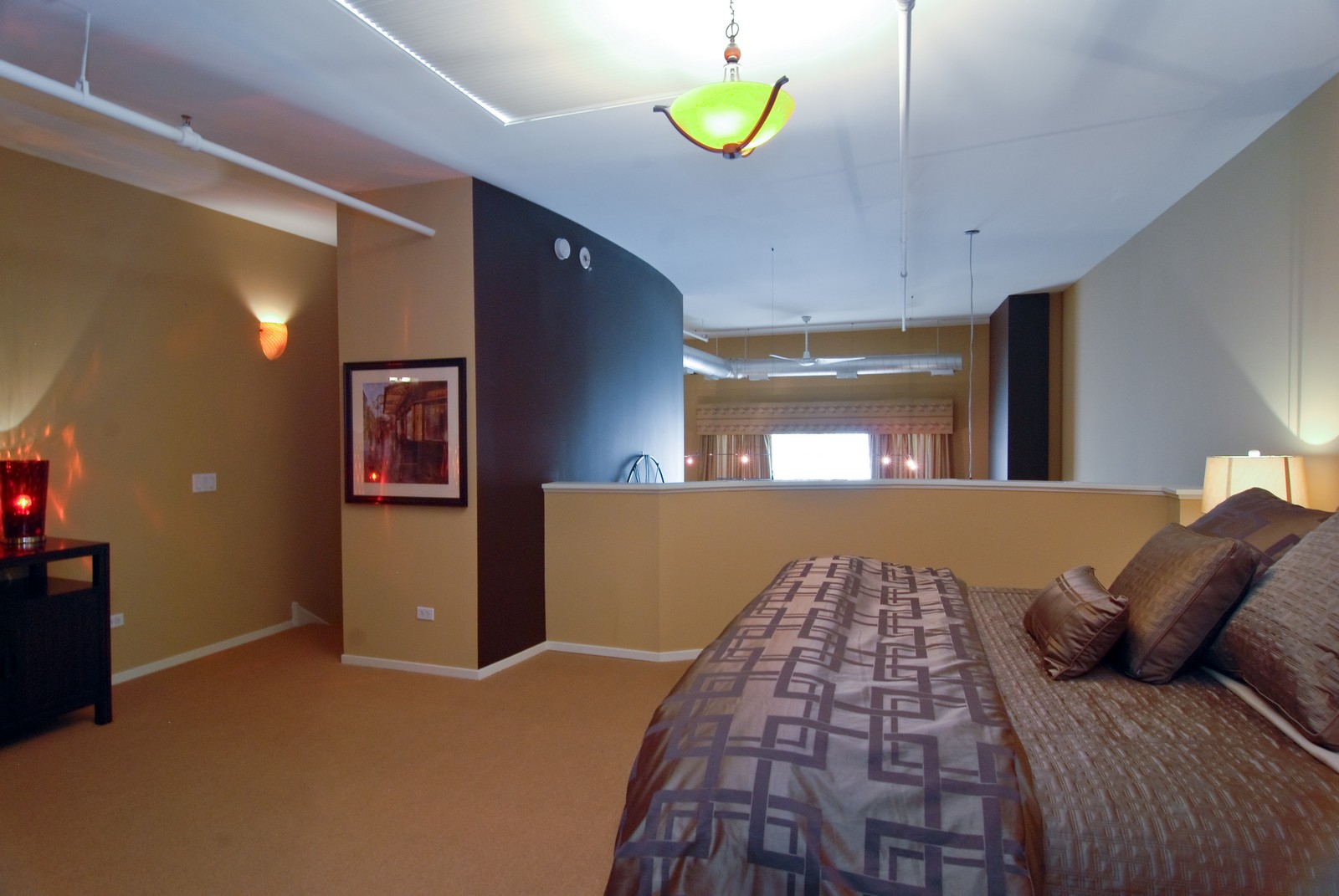Real Estate Photography - 616 W Fulton, Unit 702, Chicago, IL, 60661 - Master Bedroom