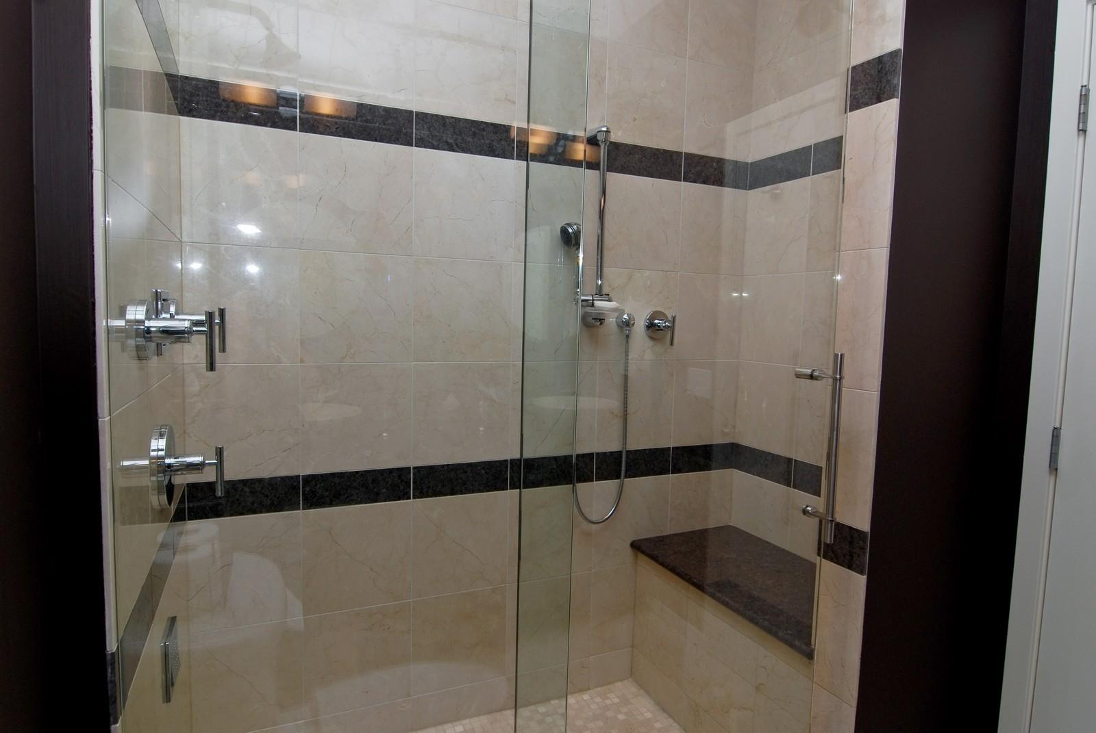 Real Estate Photography - 616 W Fulton, Unit 702, Chicago, IL, 60661 - Master Bathroom