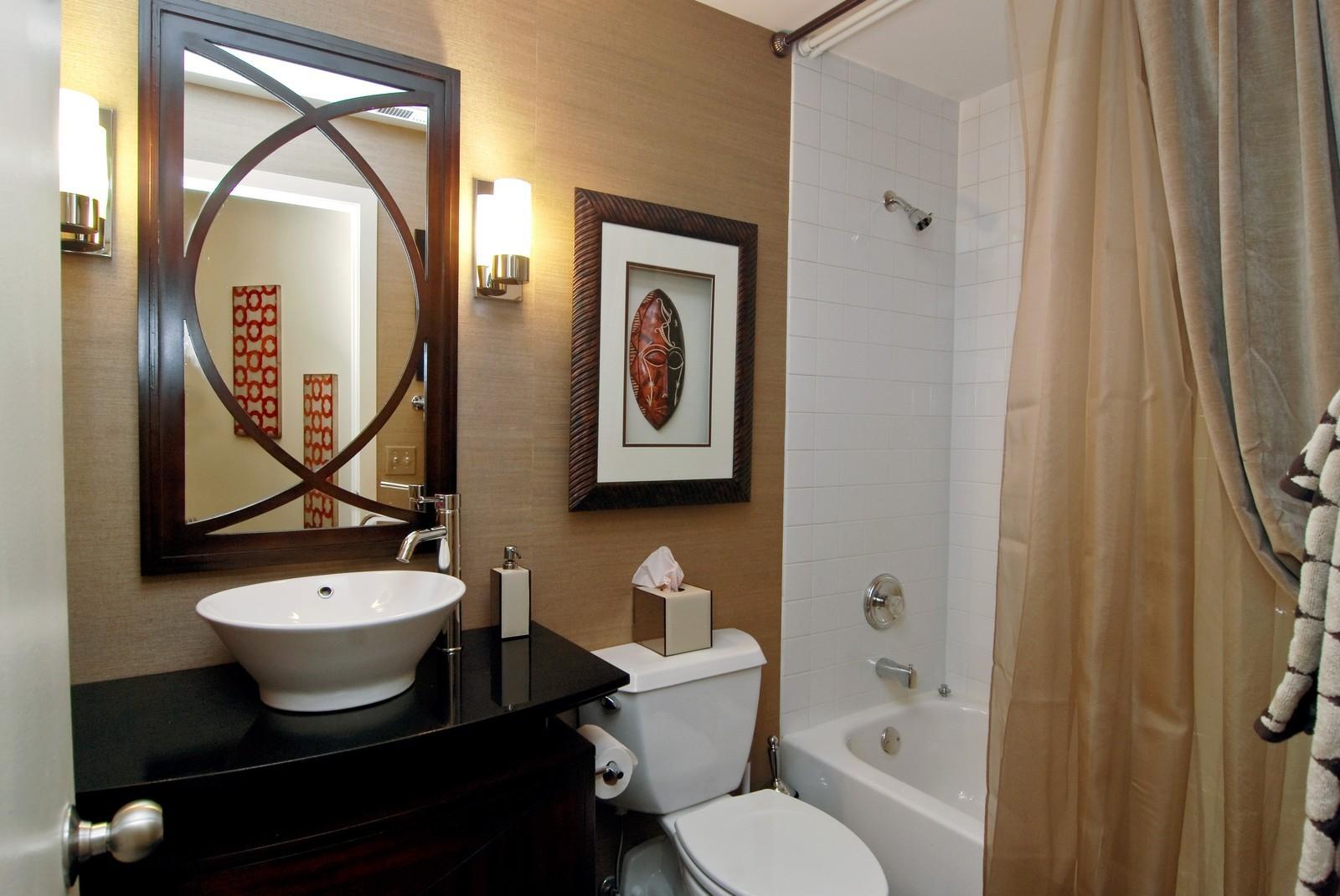Real Estate Photography - 616 W Fulton, Unit 702, Chicago, IL, 60661 - Bathroom
