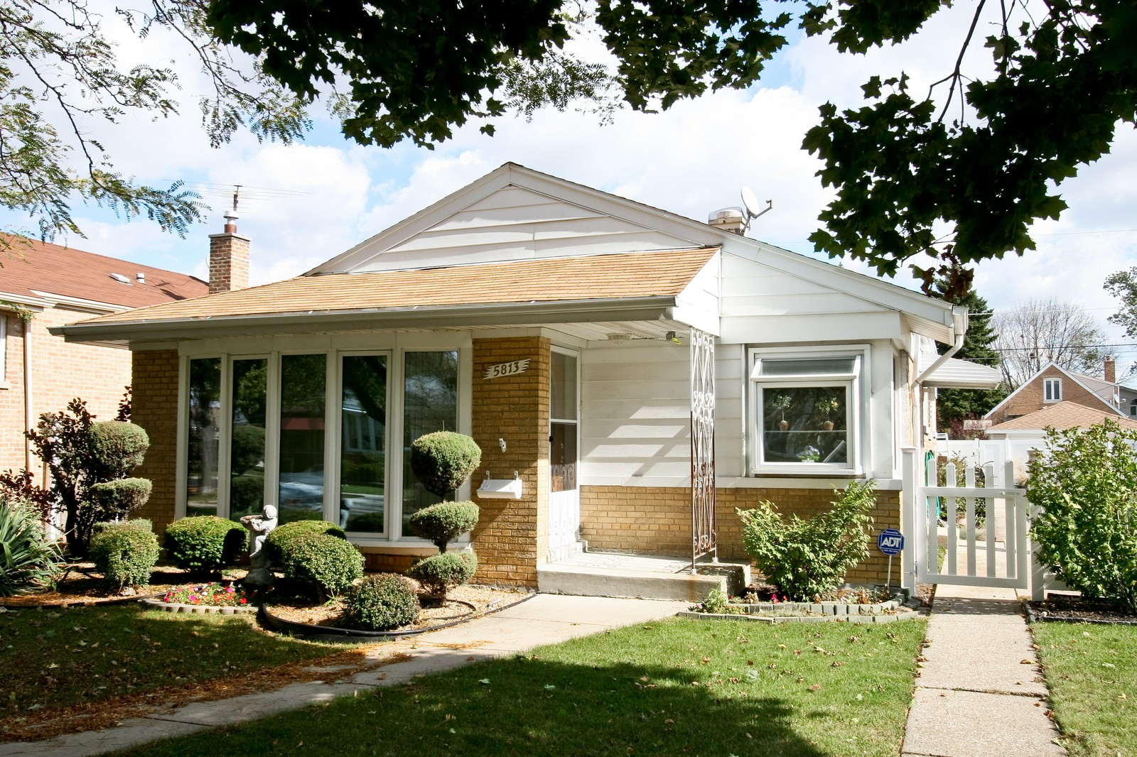 Real Estate Photography - 5813 S Natoma, Chicago, IL, 60638 - Front View