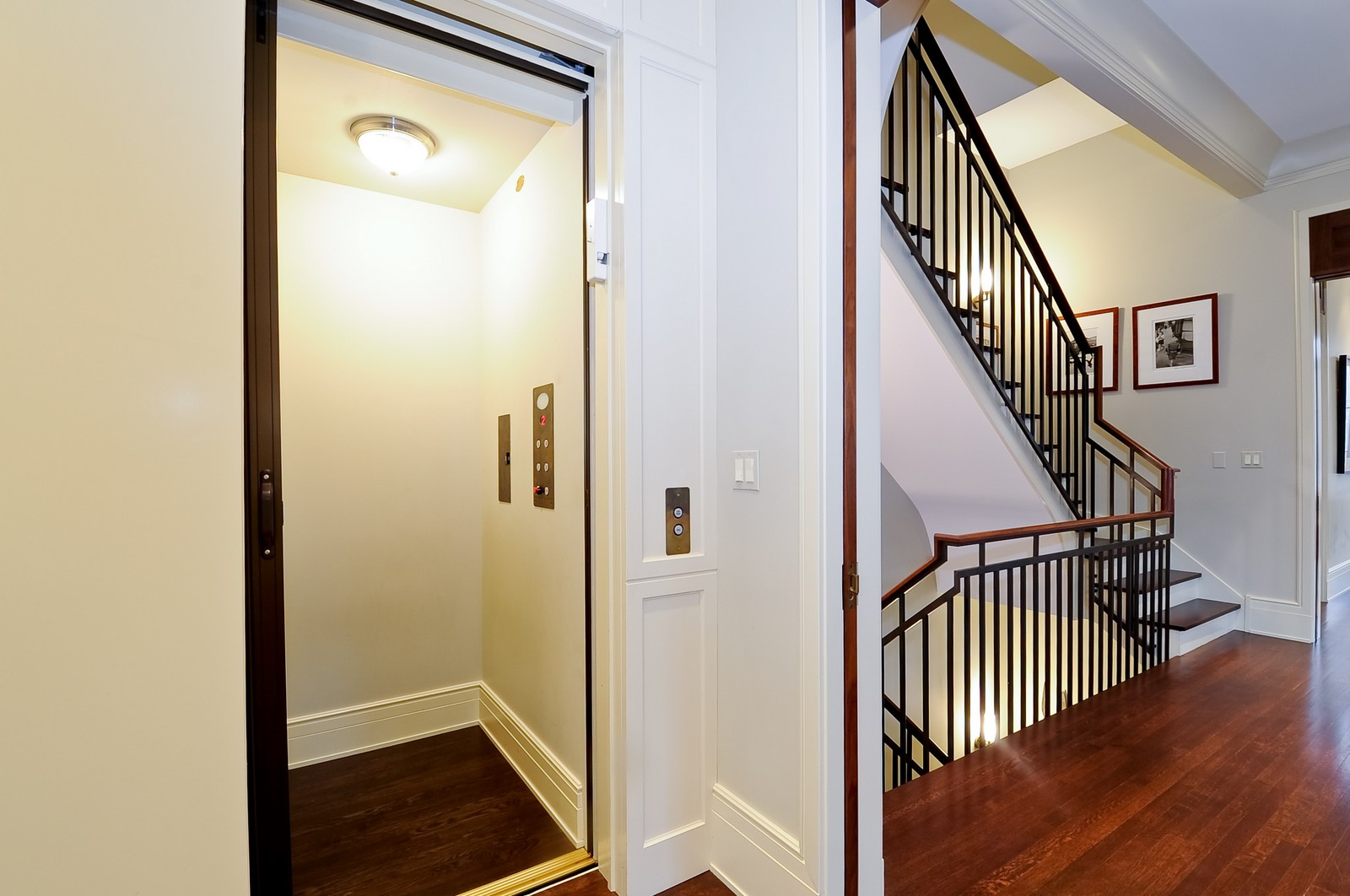 Real Estate Photography - 2214 N Magnolia, Chicago, IL, 60614 - Elevator
