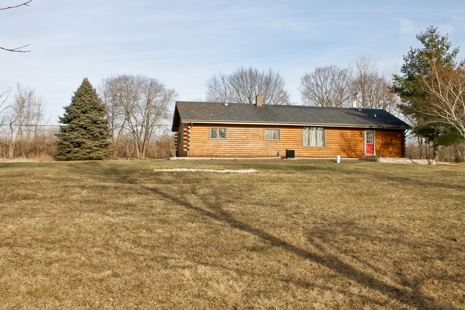 Real Estate Photography - 23087 W. Kankakee River Drive, Wilmington, IL, 60481 - Rear View