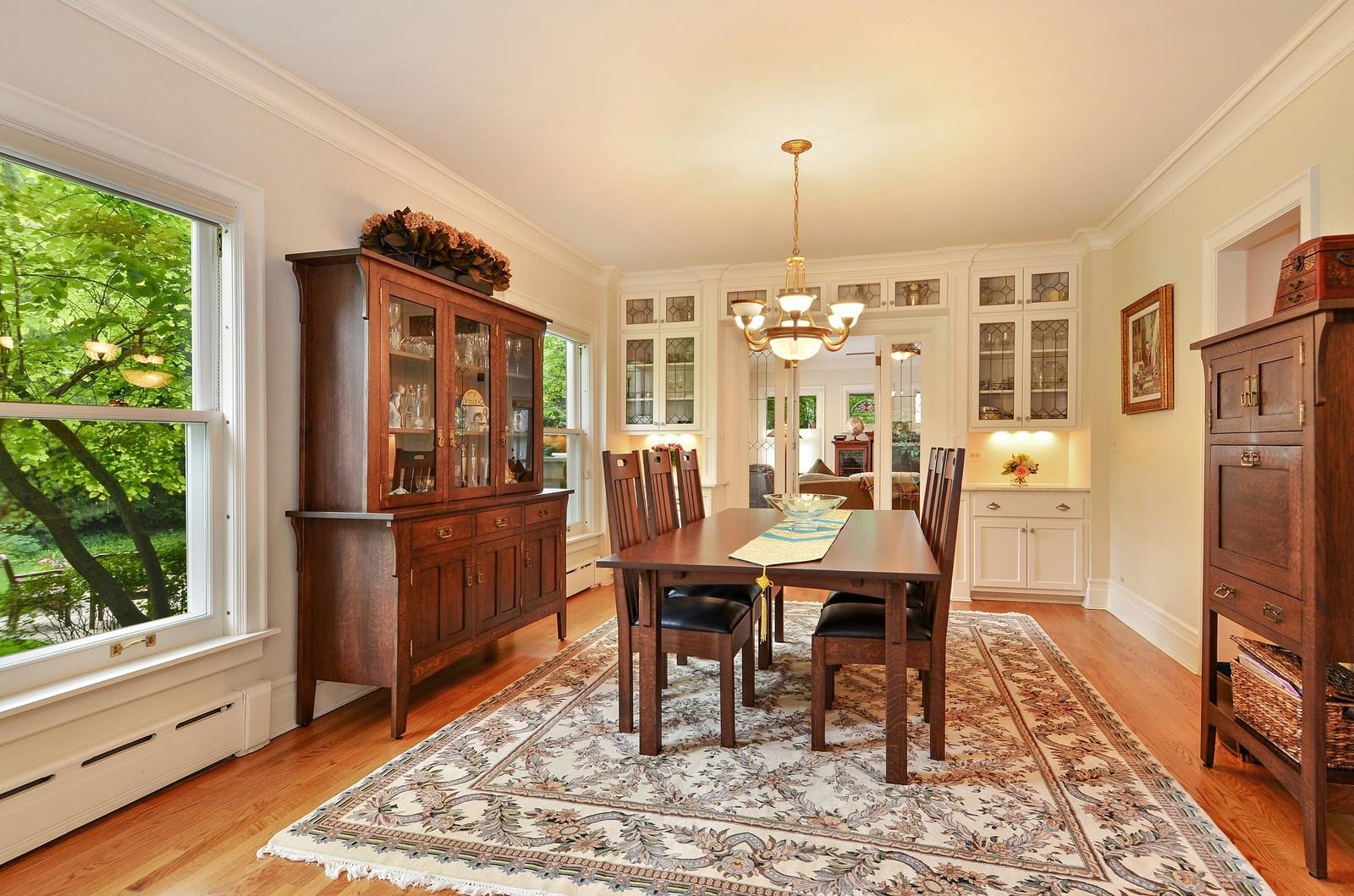 Real Estate Photography - 486 Greenleaf, Glencoe, IL, 60022 - Dining Room